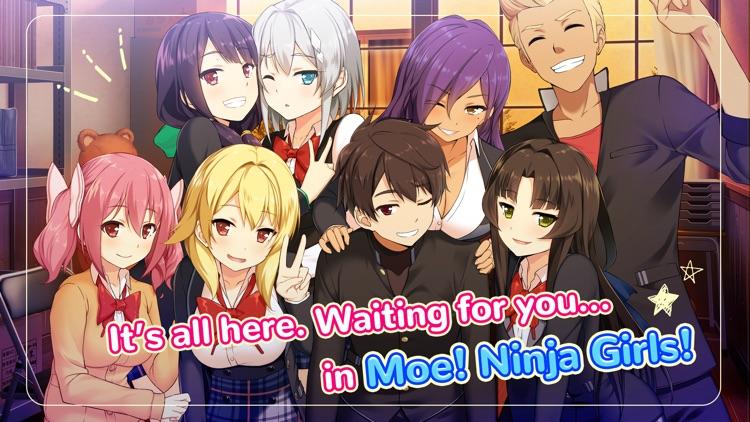 Moe! Ninja Girls: Visual Novel screenshot-9