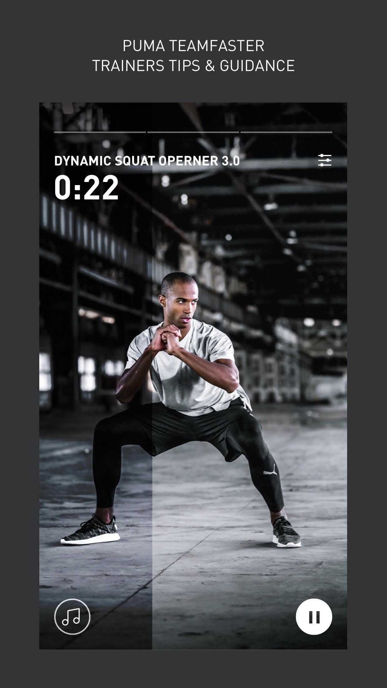 PUMATRAC - Training & Running Screenshot