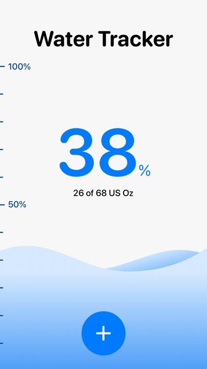 H2O: Water Tracker & Reminder screenshot-3