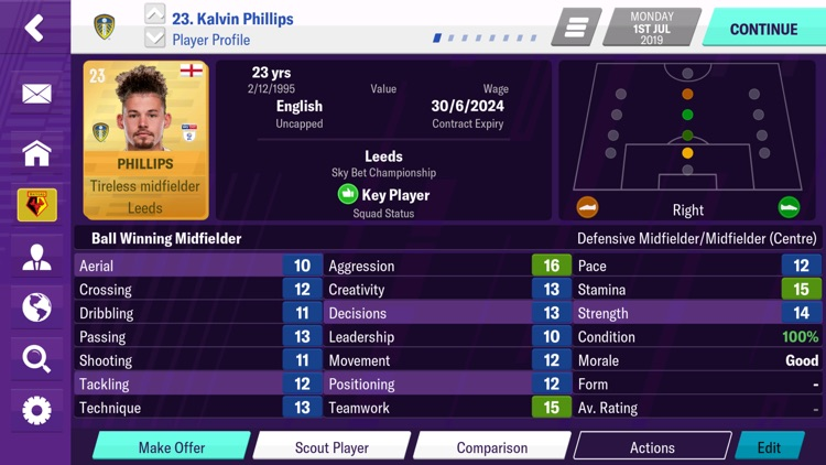 Football Manager 2020 Mobile screenshot-0