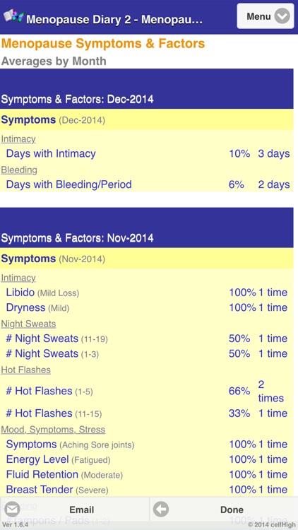 Menopause Diary 2 screenshot-3