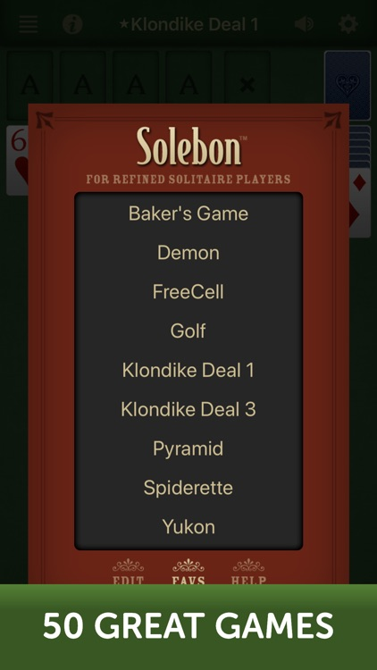 Solitaire by Solebon screenshot-3