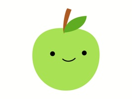 Cute Green Apple Stickers