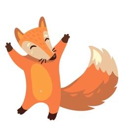 Lovely Fox Sticker Pack