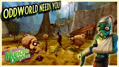 Screenshot from Oddworld: Munch's Oddysee