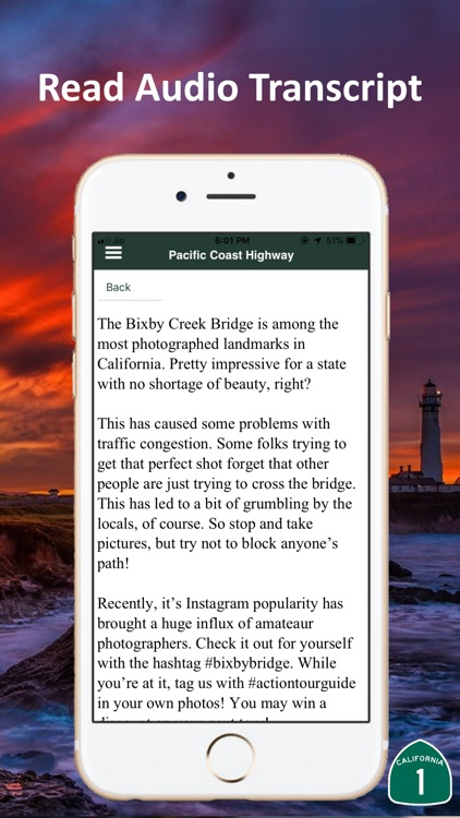 Pacific Coast Highway Route 1 screenshot-5