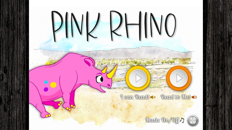 Pink Rhino - Read-Aloud Book screenshot-0