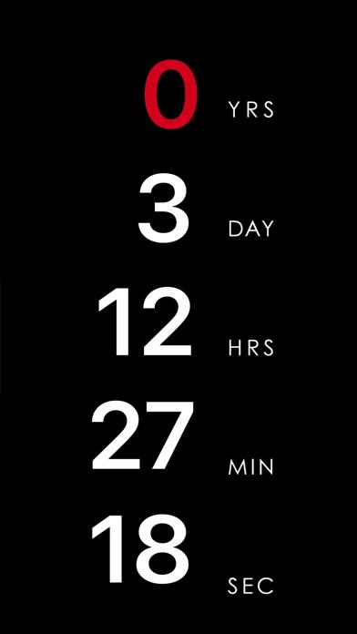 Countdown App - Halloween! Screenshot 1