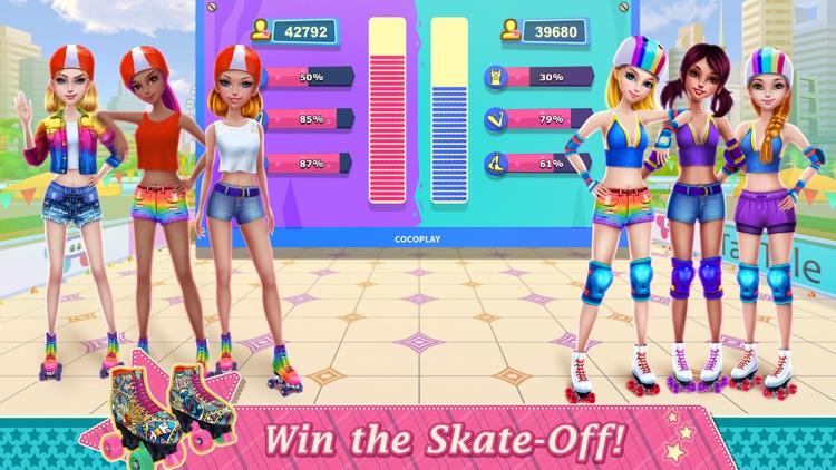 Roller Skating Girls screenshot-4