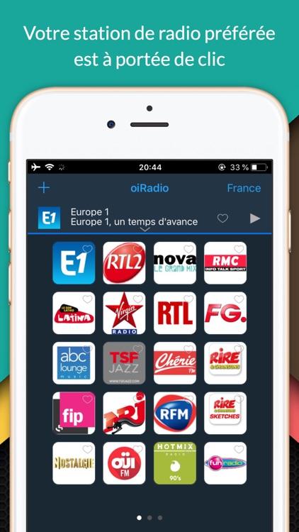 oiRadio France - Live radio