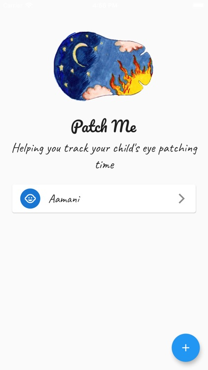 Patch Me: Eye Patch Tracking