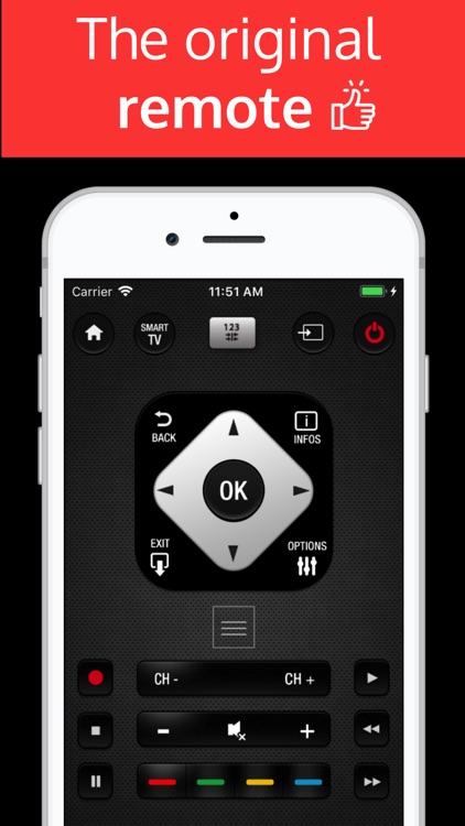PhilRemote: remote Philips TV