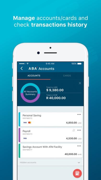 ABA Mobile Bank screenshot-0