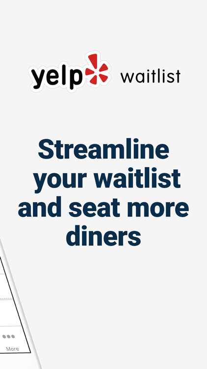 Yelp Waitlist for Restaurants
