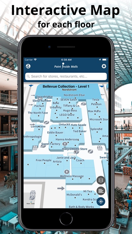 Malls by Point Inside