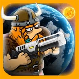 Tough Viking Games in Zero G