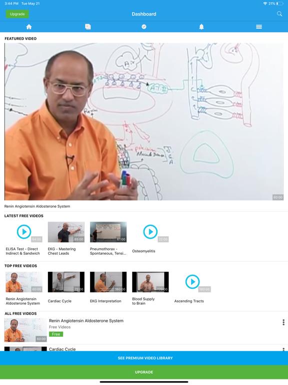 Dr  Najeeb Lectures (iPad) reviews at iPad Quality Index