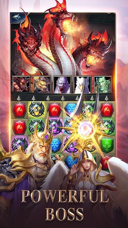 MythWars & Puzzles:RPG Match 3 screenshot-3