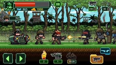 Metal Guns Fury : beat em up Screenshot on iOS