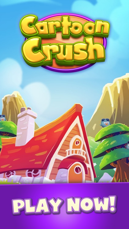 Cartoon Crush: Match 3 Games screenshot-9