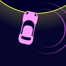 Neon Car Drifting