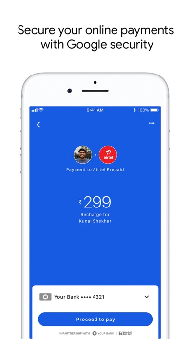 Screen Shot Google Pay for India (Tez) 4