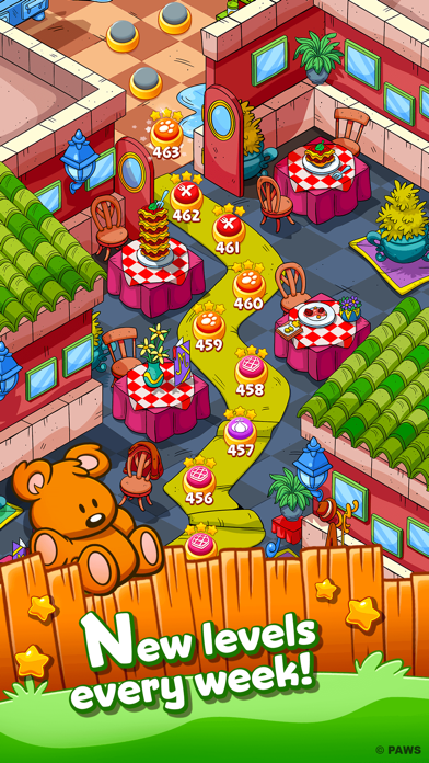 Garfield Snack Time screenshot four
