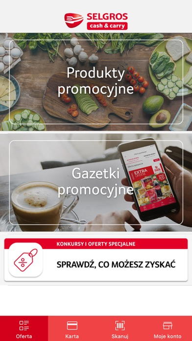 Screenshot for Selgros in Poland App Store