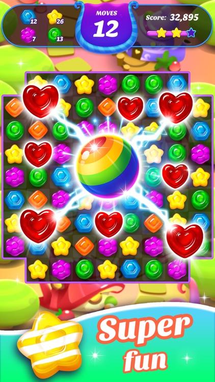 Gummy Candy Blast!Match 3 Game screenshot-0