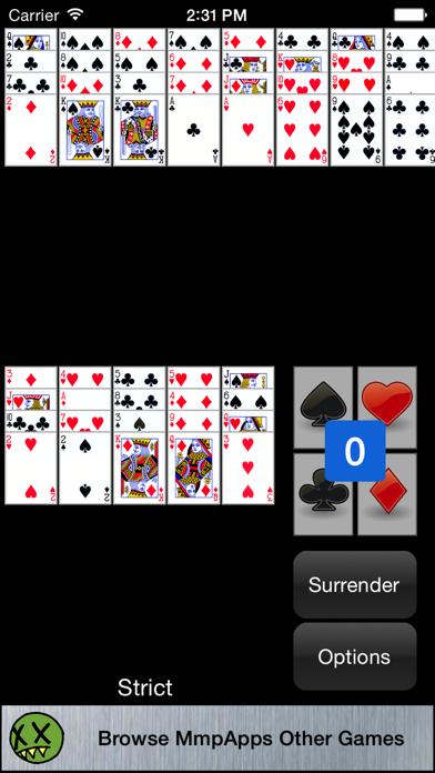 Baker's Dozen Solitaire screenshot two