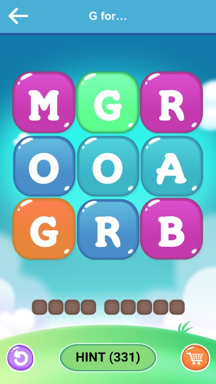 WoW Link - Word Puzzle Game
