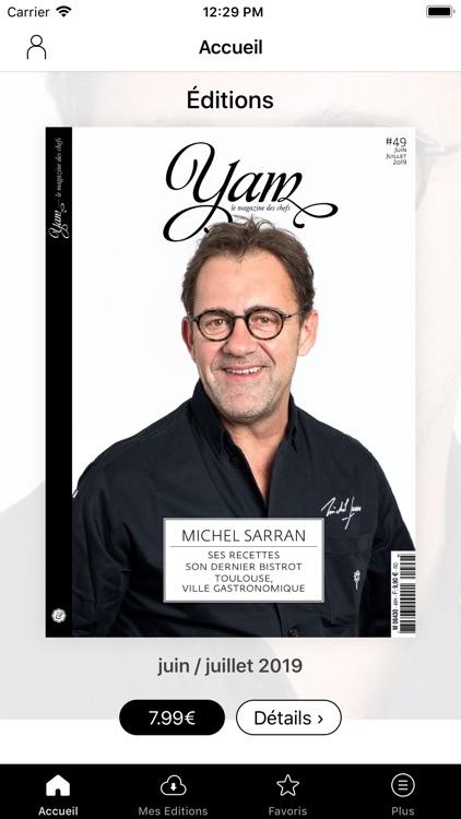 YAM le magazine des chefs