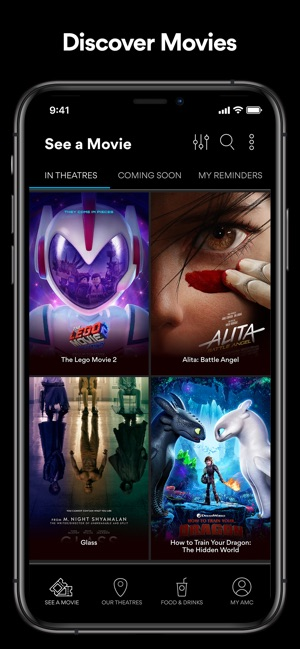 46aaae1cc9ab AMC Theatres on the App Store