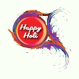 Holi Dhuleti Stickers