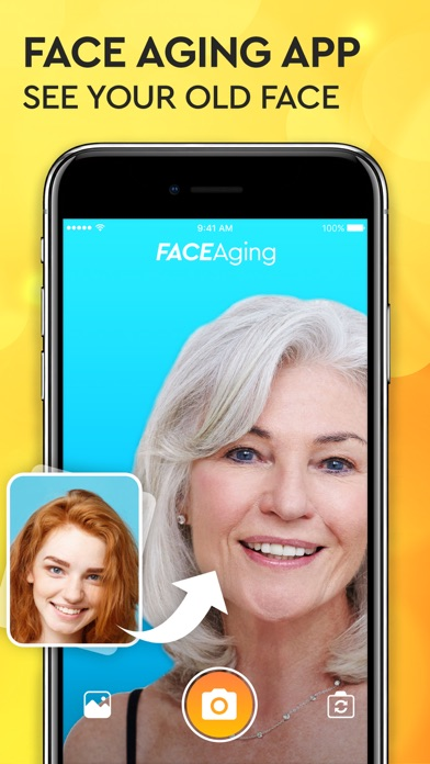 Face Aging App - Oldify Camera screenshot one
