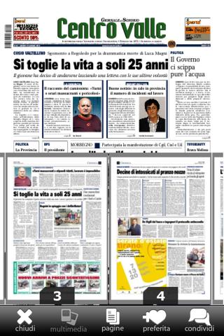 Giornale di Sondrio - náhled