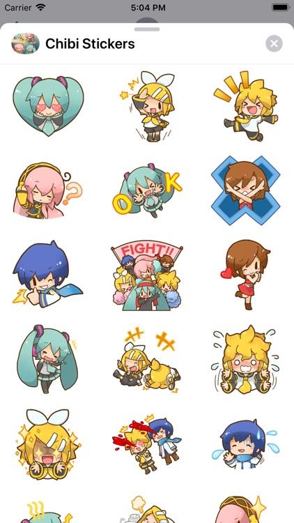 Anime Chibi Stickers Niko HD