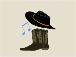 Country Music Stickers