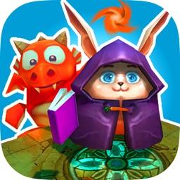 Magic Rabbit vs Dragons