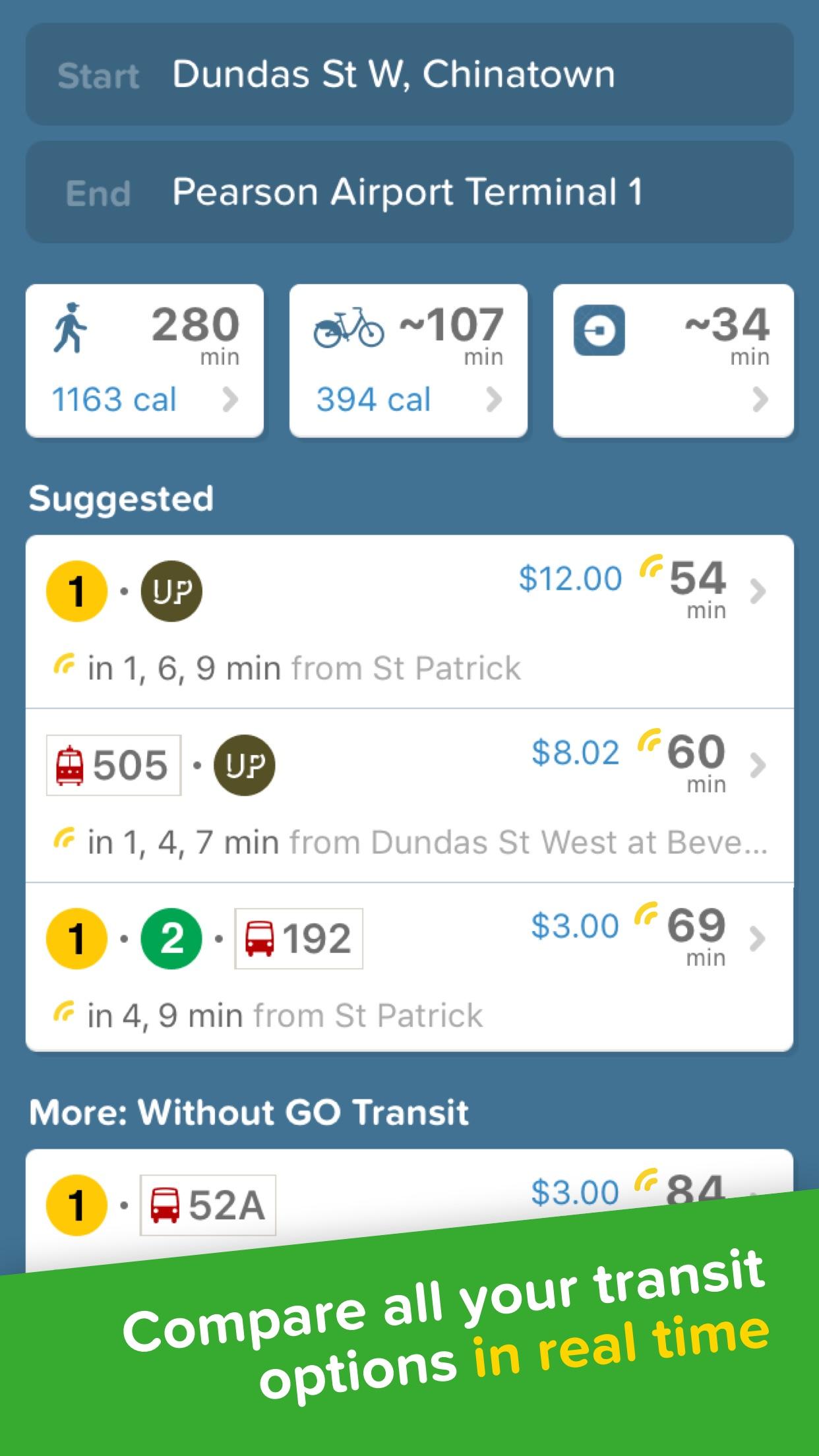 Citymapper: Live Transit Times Screenshot