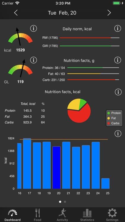 Noco Calories screenshot-6