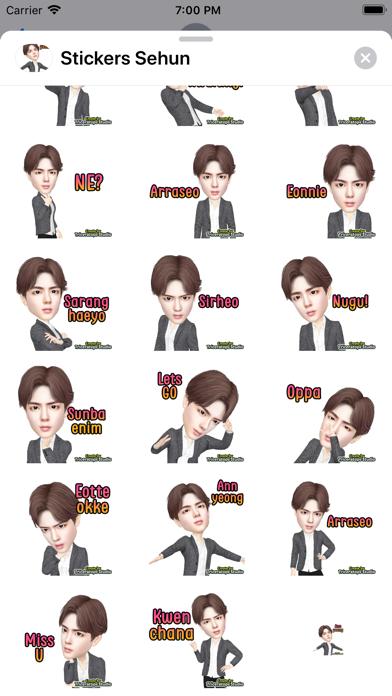 Sehun Stickers app image