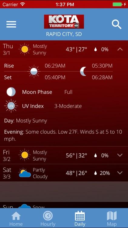 KOTA Mobile Weather