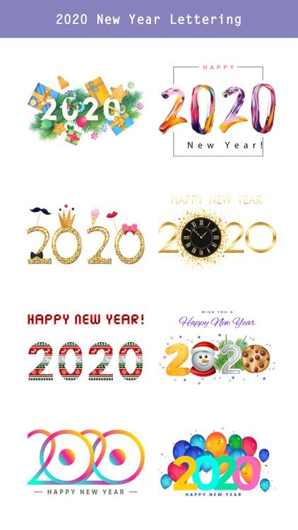 Happy New Year - 2020 Stickers screenshot-3