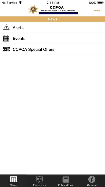 CCPOA Members App