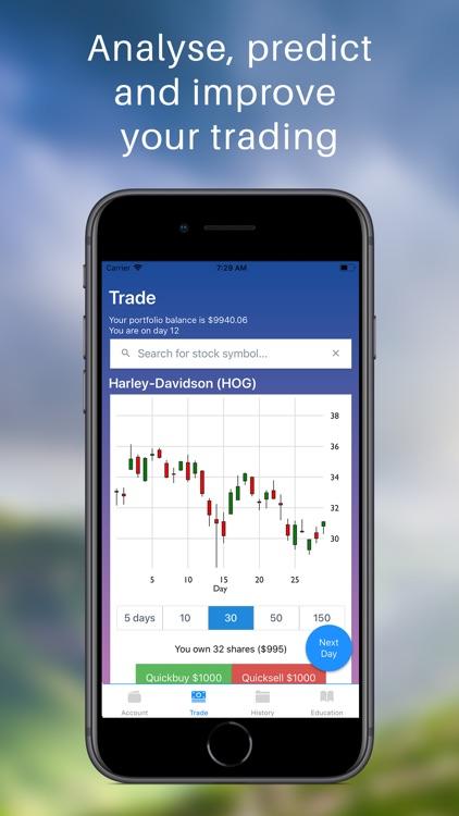 Instant Stock Market Simulator