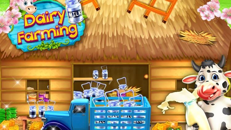 Virtual Dairy Farming Game