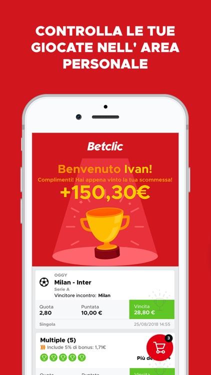 Betclic - Scommesse Sportive screenshot-3