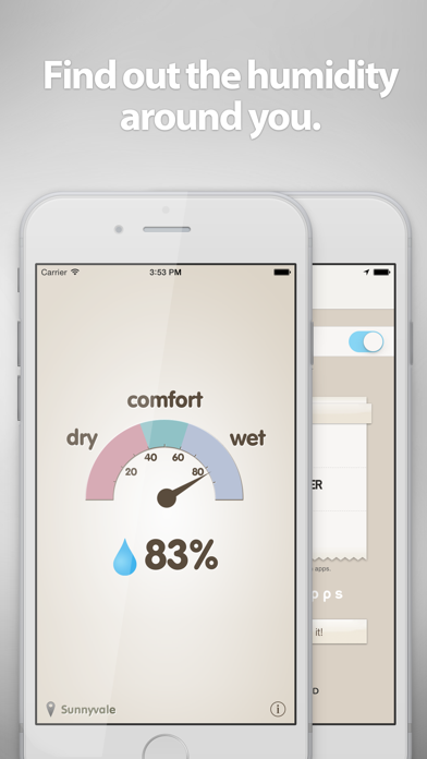 Screenshot #1 pour Hygrometer -Check the humidity