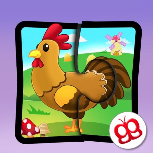 Farm Jigsaw Puzzles 123 iPad icon